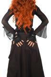 Redhead de la parte posterior Foto de archivo libre de regalías
