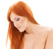 Redhead descubierto sano Fotos de archivo libres de regalías