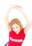 Redhead do disco Fotos de Stock Royalty Free