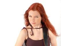redhead för 3 gitarrist Royaltyfri Bild