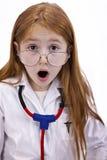 Redhead female child royalty free stock image