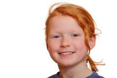 Redhead girl Stock Photography