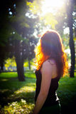 Redhead girl Royalty Free Stock Photos