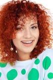 Redhead girl Stock Photos