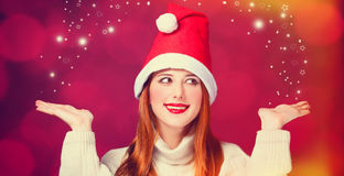 Redhead girl Royalty Free Stock Images