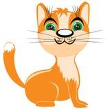 Redhead kitten Royalty Free Stock Photos