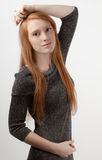 Redhead Model Stock Photos