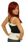 Redhead model Stock Photography