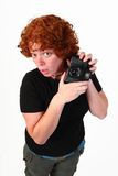 RedHead photographer Stock Photos