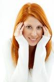 redhead piacevole fotografia stock libera da diritti