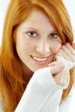 redhead piacevole immagini stock libere da diritti