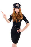 Redhead police officer Stock Photography