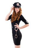 Redhead police officer Royalty Free Stock Image