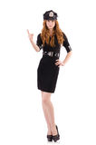 Redhead police officer Royalty Free Stock Photography