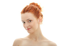 Redhead portrait Stock Image
