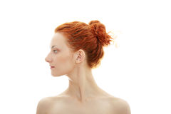 Redhead portrait Stock Photos