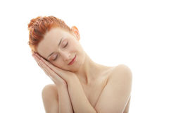Redhead portrait Royalty Free Stock Images