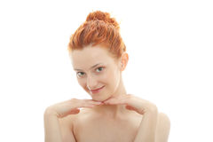Redhead portrait Stock Photos