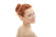 Redhead portrait Royalty Free Stock Photo