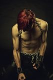 Redhead slave Royalty Free Stock Images