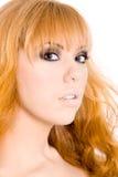 Redhead woman Royalty Free Stock Image