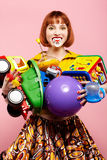 Redhead woman Stock Photography
