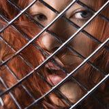 Redhead woman. Royalty Free Stock Image