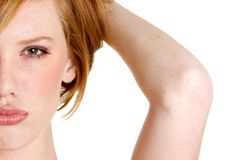 Redhead Woman Stock Photography