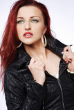 Redhead woman. Royalty Free Stock Images