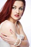 Redhead woman. Stock Image