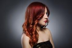 Redhead Woman Stock Photo