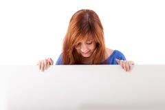 Redhead Woman Stock Image