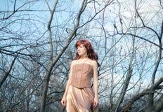 Redhead woman Royalty Free Stock Photo
