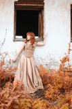 Redhead woman Royalty Free Stock Images