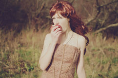 Redhead woman Royalty Free Stock Photos