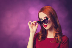 Redhead women Royalty Free Stock Images