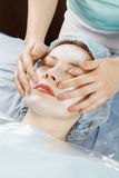 Face massage Royalty Free Stock Photo