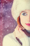 Redhead women Royalty Free Stock Image