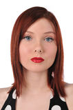 Redhead young woman Royalty Free Stock Photo