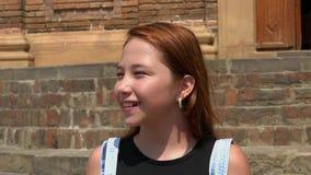 Redheaded предназначенная для подростков девушка Стоковые Фото