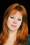 Redheaded beauty Stock Photography