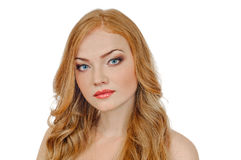 Redheaded beauty Stock Photo