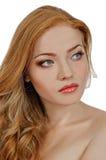 Redheaded beauty Royalty Free Stock Photos