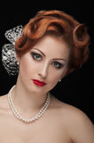 Redheaded  beauty Royalty Free Stock Photo