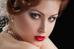 Redheaded  beauty Stock Photography