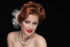 Redheaded  beauty Stock Photo