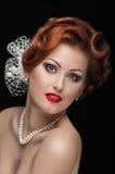 Redheaded  beauty Stock Image