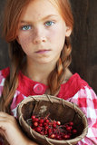 Redheaded child Royalty Free Stock Images