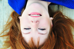 Redheaded face Royalty Free Stock Photo