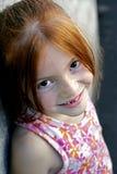 redheaded flicka 2 Fotografering för Bildbyråer